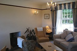 lounge of the bed and breakfast dolgellau